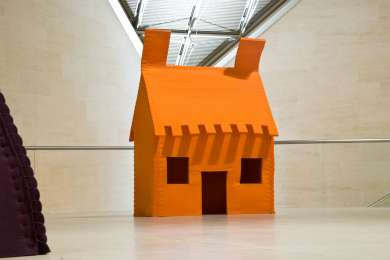 Vernissage de l'exposition PLAID HOUSES au Mudam